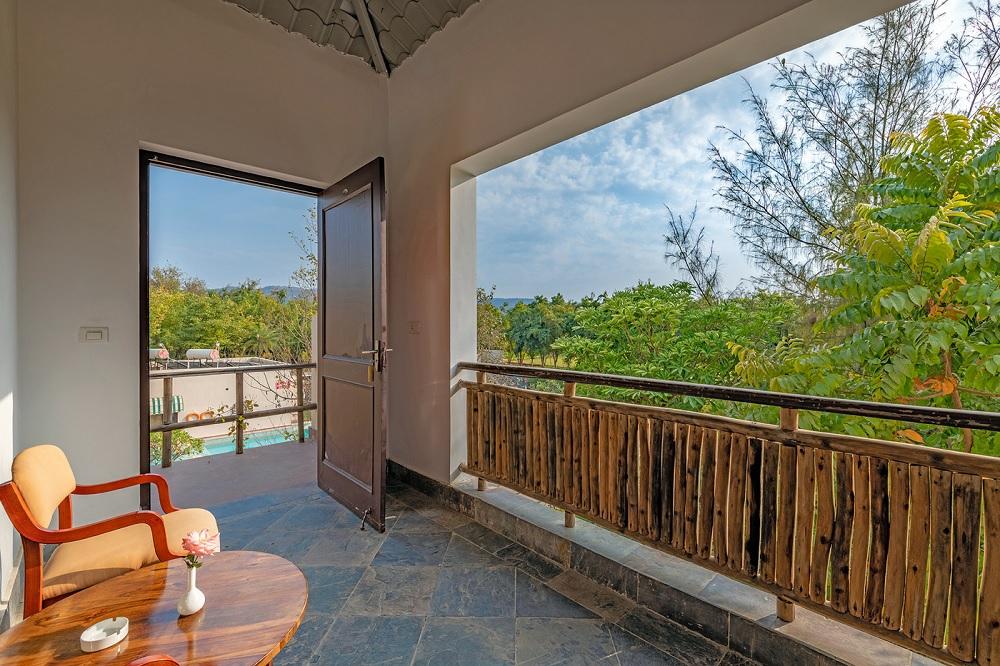 Ranthambore Kothi Regal Rooms Balcony