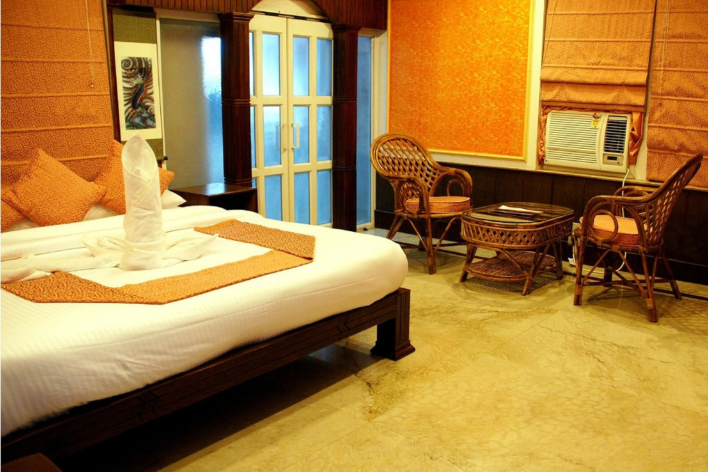 village machaan-resort-room