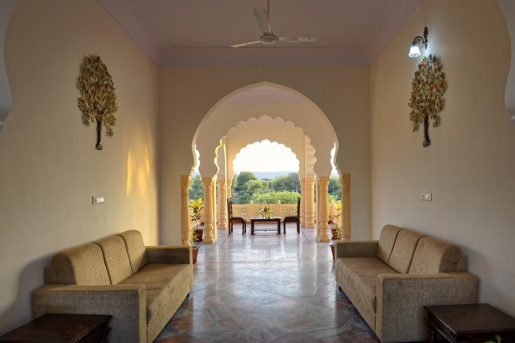 Ranthambore Heritage Haveli Balcony
