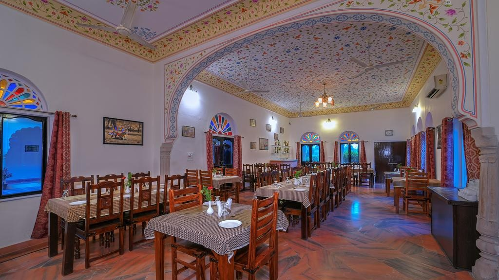 Ranthambore Heritage Haveli Dining