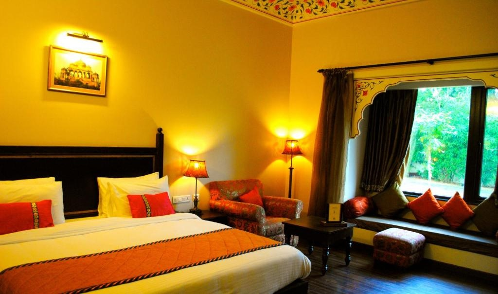 Anurag Palace Ranthambore Deluxe Room2