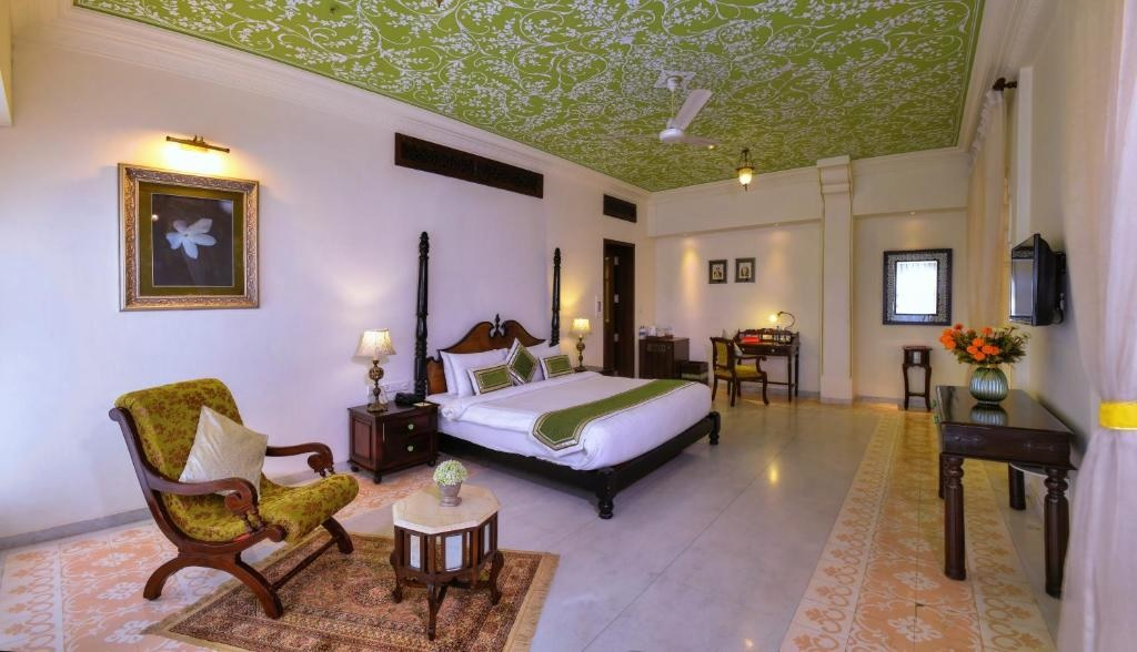 Anurag Palace Ranthambore Thematic Suites Bedroom