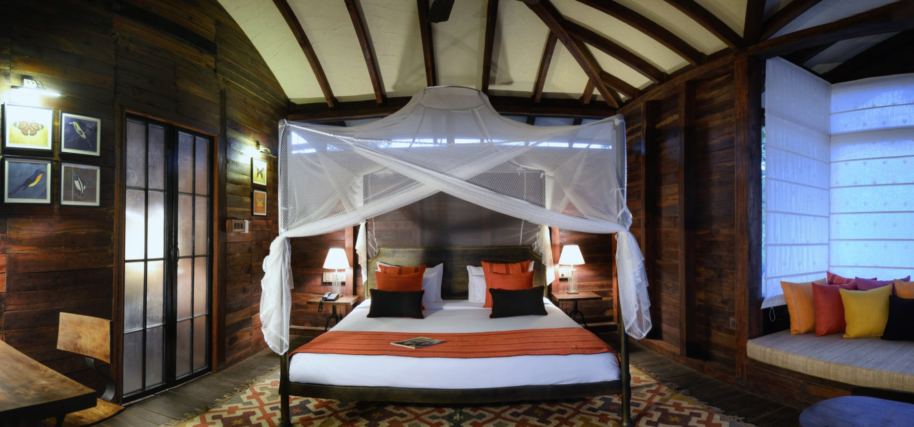 pench tree lodge inside view
