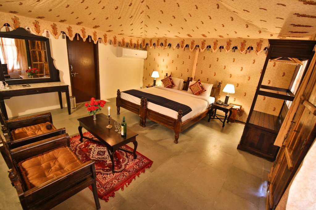 Shergarh Resort Ranthambore Luxury Tents2