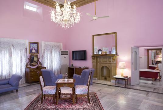sariska palace rooms