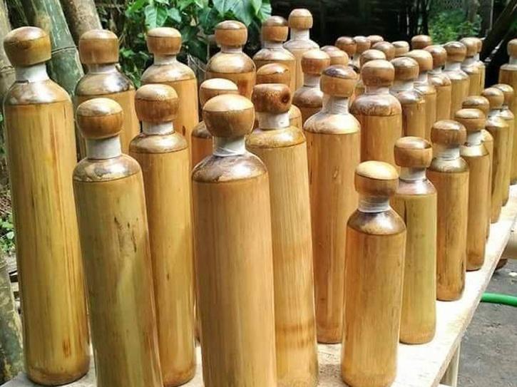 Sikkim Bamboo Bottles