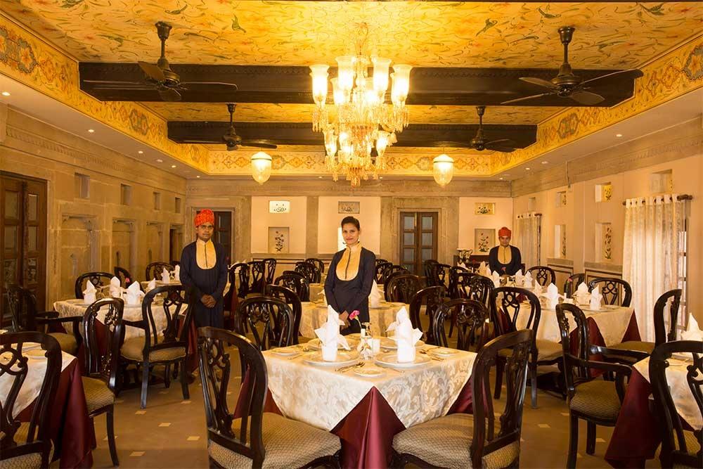 Brijrama Palace Dining Varanasi