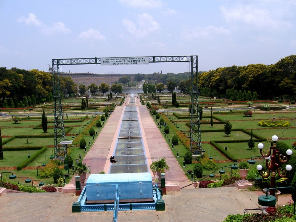 Brindavan Gardens Mysore