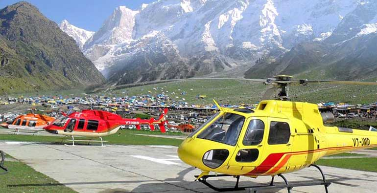 chardham yatra in helicopter