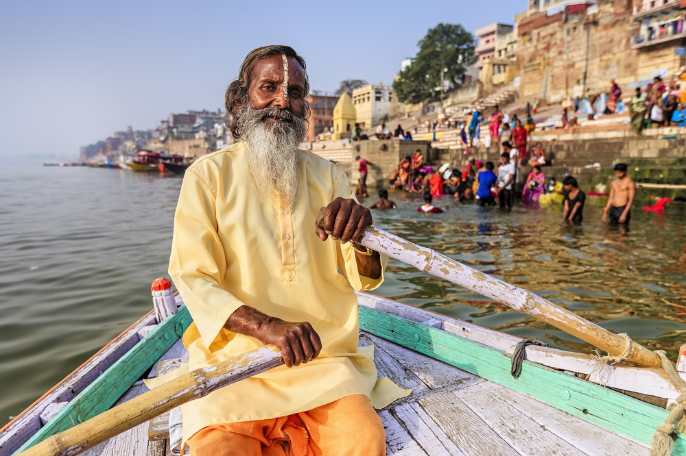 Morning Boat Ride in Varanasi