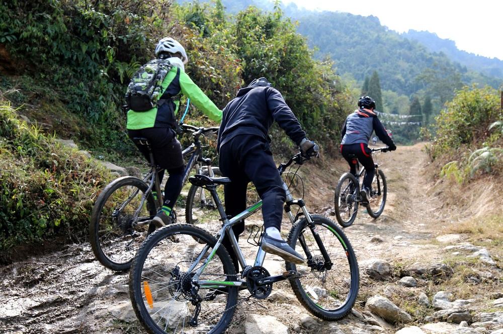 Mountain Biking in Sikkim
