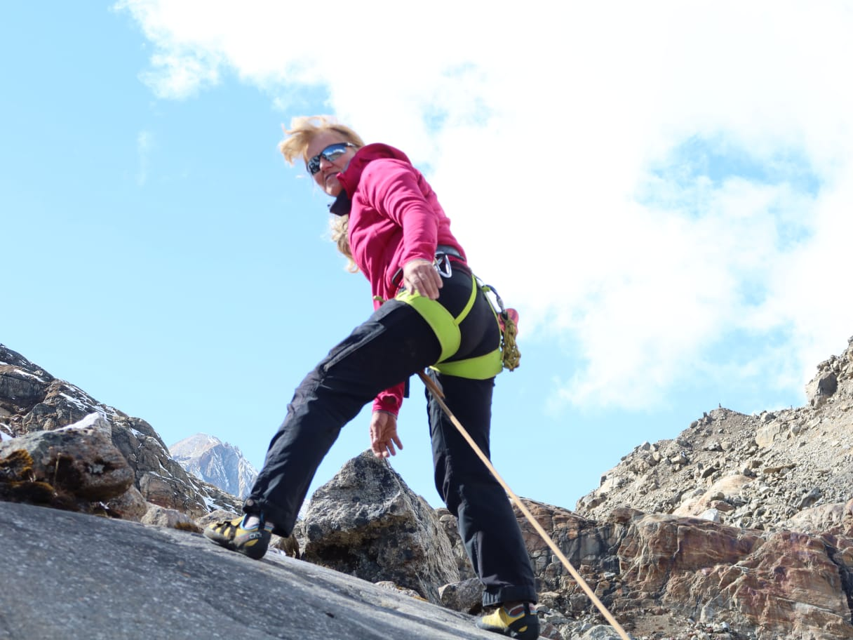 Rock Climbing in Sikkim