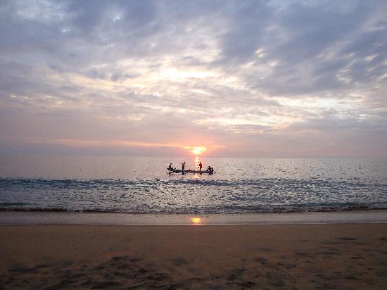 Sunset Varkala Beach